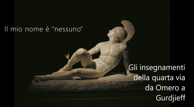 """IL MIO NOME È """"NESSUNO"""" – Seminario online con Sauro Tronconi"""