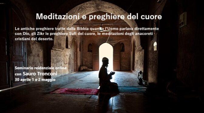 MEDITAZIONI E PREGHIERE DEL CUORE